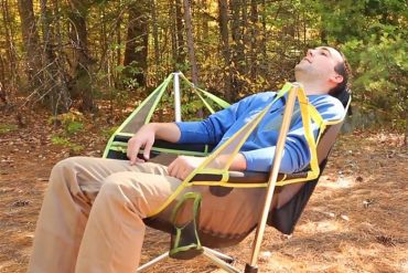 The Stargaze Recliner Camping Chair That Lets You Swing And Recline
