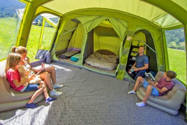 Pick Your One-Stop Living With Vango Odyssey Giant Family Tunnel Tent
