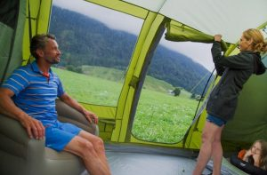 giant camping family tent