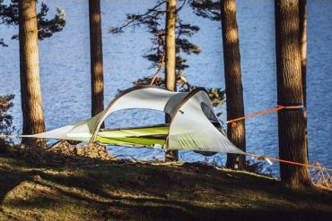 Tentsile Stingray- This 3 Person Hanging Tent Lets You Camp In The Air