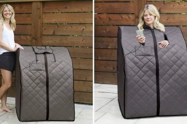 This Portable Sauna Let You Enjoy a World Class Sauna Experience From The Comfort Of Your Home