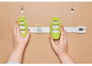 smart measuring picture hanging tool