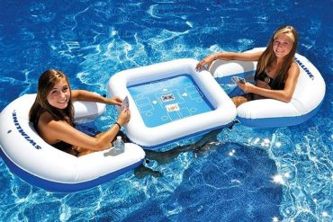 Play Your Favorite Card Games In The Pool With This Floating Card Table